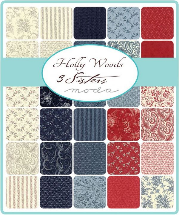 Moda Charm Pack - Holly Woods  (42 x 5
